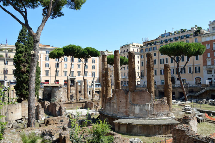 The Area Sacra is an ancient Roman landmark