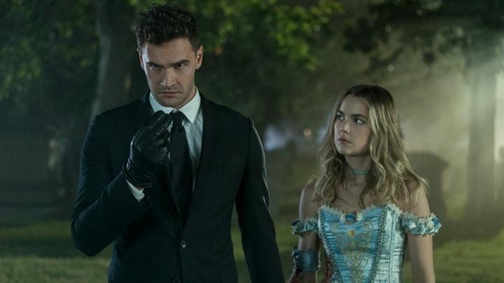 'Into the Dark's' Tom Bateman and Rebecca Rittenhouse