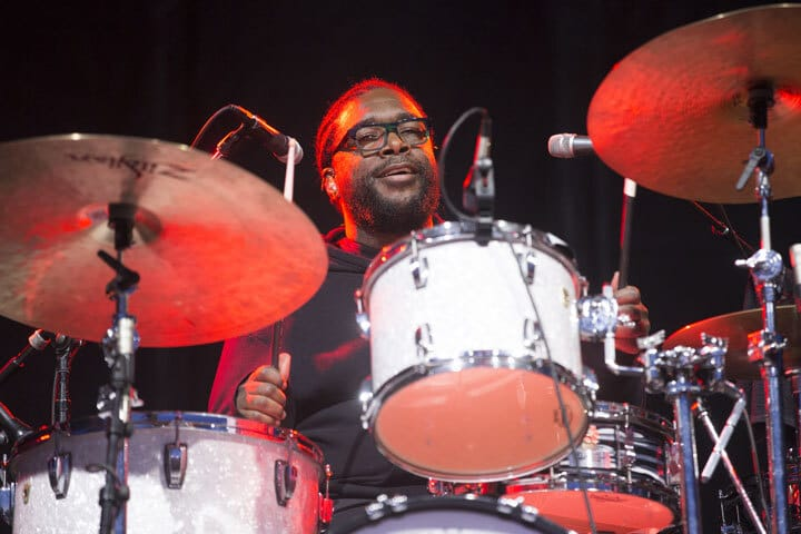 Questlove on drums