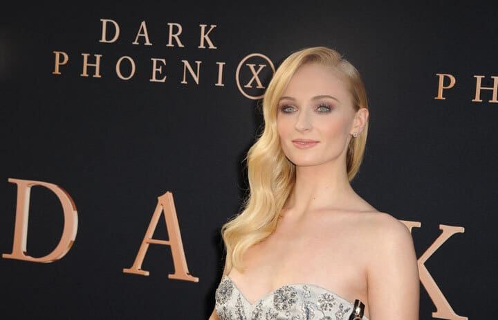 Sophie Turner at the Los Angeles premiere of 'Dark Phoenix' held at the TCL Chinese Theatre in Hollywood, USA on June 4, 2019.